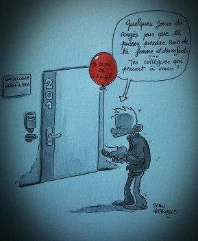 Stan Hotbridges - Opération ballon Rouge MPC - Don de congés