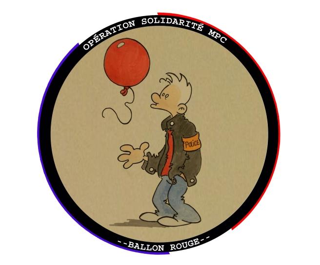 opération solidarité -- Ballon rouge --