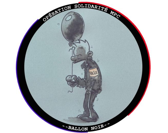 opération solidarité -- Ballon noir --