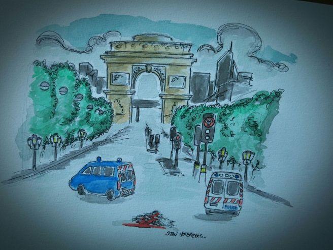 Les Champs Elysées by Stan Hotbridges